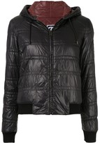 Chanel Pre Owned bomber style zip jacket