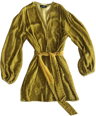 retrofete Gold Dress for Women