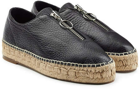 Alexander Wang Leather Espadrilles