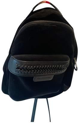 Stella McCartney Stella Mc Cartney Black Velvet Backpacks