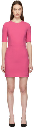 Dolce & Gabbana Pink Fitted Dress