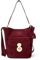 Ralph Lauren The Suede Rl Bucket Bag