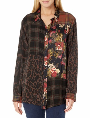 Johnny Was 3J Workshop Women's Buttondown