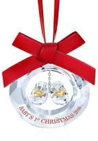 Swarovski Baby's First Christmas 2016 Ornament