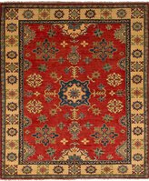 """Ecarpetgallery Hand-knotted Finest Gazni 5'2"""" x 6'2"""" 100% Wool Traditional area rug"""
