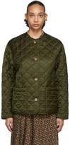 Burberry Green Bardsey Jacket