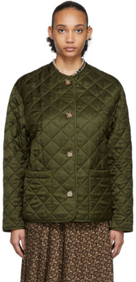 Burberry Green Bardsey Jacket