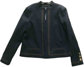 Chanel Navy Wool Jackets