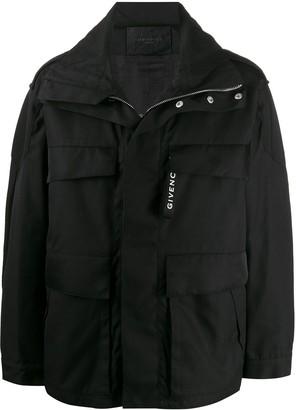 Givenchy Hooded Rain Jacket