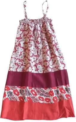 AILANTO Burgundy Silk Dresses