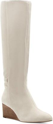 Sole Society Deannah Knee High Wedge Boot