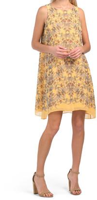 Sleeveless Trapeze Dress