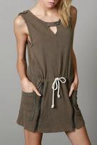 POL Zip Pullover Dress