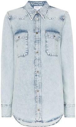Calvin Klein Jeans Est. 1978 Western flap pocket denim shirt