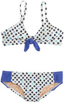 J.Crew Girls' seamed bikini set in flower bud