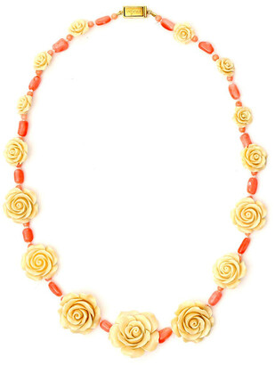 Prada Rose Necklace