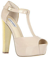 Steve Madden Dyvine Patent Leather T-Strap Pumps