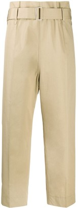 Sofie D'hoore Cropped Straight Leg Utility Trousers