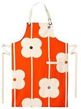 Orla Kiely Abacus Red Apron - Red