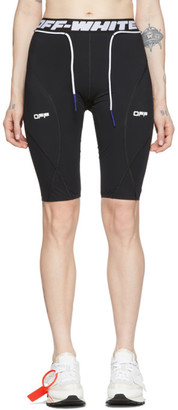Off-White Black Active Cycling Shorts