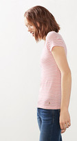 Esprit Basic striped stretch cotton T-shirt