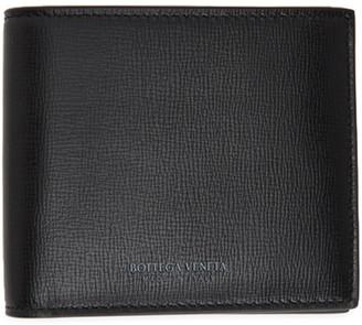 Bottega Veneta Black Calfskin Bifold Wallet