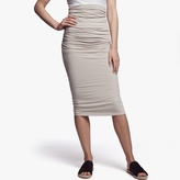 James Perse Shirred Tube Skirt