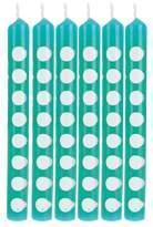 Creative Converting 12ct Creative Converting Teal Lagoon Polka Dot Candles