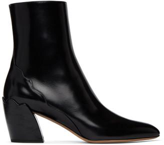 Chloé Black Lauren Ankle Boots