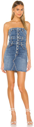 Hudson X REVOLVE Triple Layer Denim Dress. - size S (also