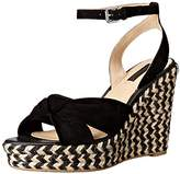 Frye Women's Charlotte Twist Espadrille Wedge Sandal