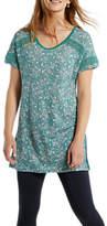 White Stuff Camilla Linen Jersey Tunic Top, Multi
