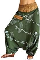 bonzaai virblatt UNISEX harem pants elastic waistband S - L - Fusion