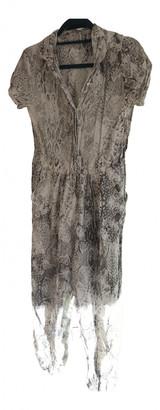 Maje Spring Summer 2020 Grey Linen Jumpsuits