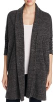 Three Dots Draped Marled Cardigan