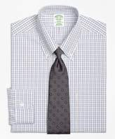 Brooks Brothers Non-Iron Milano Fit Triple Tattersall Dress Shirt