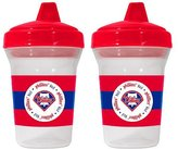 Baby Fanatic Sports MLB Spill-Proof Sippy Cups Safe BPA Free (Philadelphia Phillies)