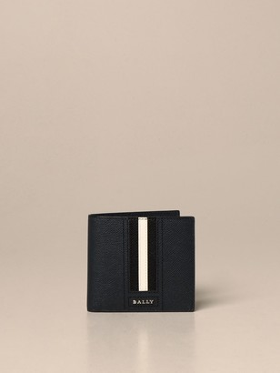 Bally Trasai.lt Wallet In Leather With Trainspotting Band
