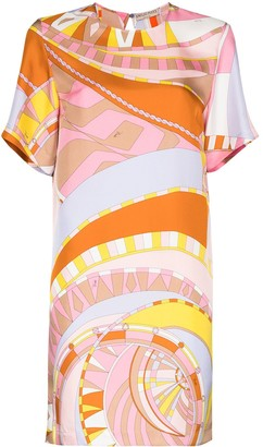 Emilio Pucci Wally graphic-print mini dress