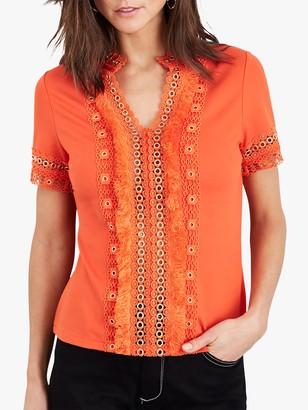 Damsel in a Dress Kera Eyelet Jersey Top