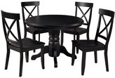 5 Piece Pedestal Dining Table Set crafted by Home Styles Furniture