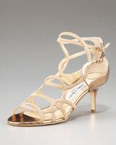 Baden Strappy Low-Heel Sandal
