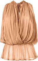Mes Demoiselles wrap blouse - women - Viscose - 36