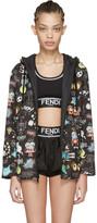 Fendi Reversible Black Animation Jacket