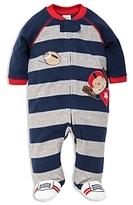 Little Me Boys' Monkey Microfleece Sleeper - Baby