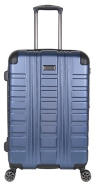 Kenneth Cole Reaction Luggage Embossed 24-Inch Checked Hard Shell Luggage