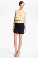 Carven Jacquard Knit Sweater