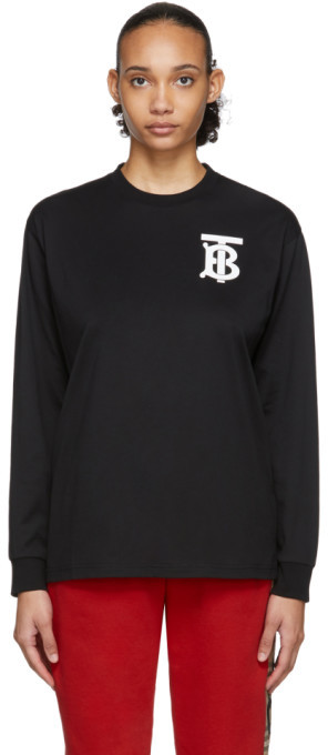 Burberry Black Atherton T-Shirt