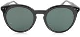 Bottega Veneta BV0096S Round Acetate Women's Sunglasses