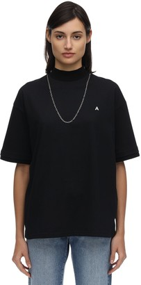 Ambush Logo Cotton Jersey T-Shirt